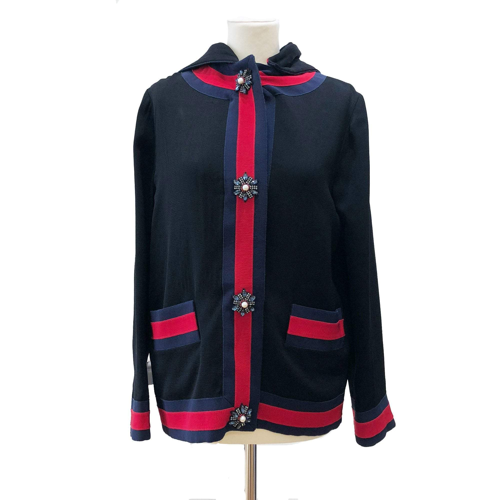 Gucci detachable Loved hood jacket