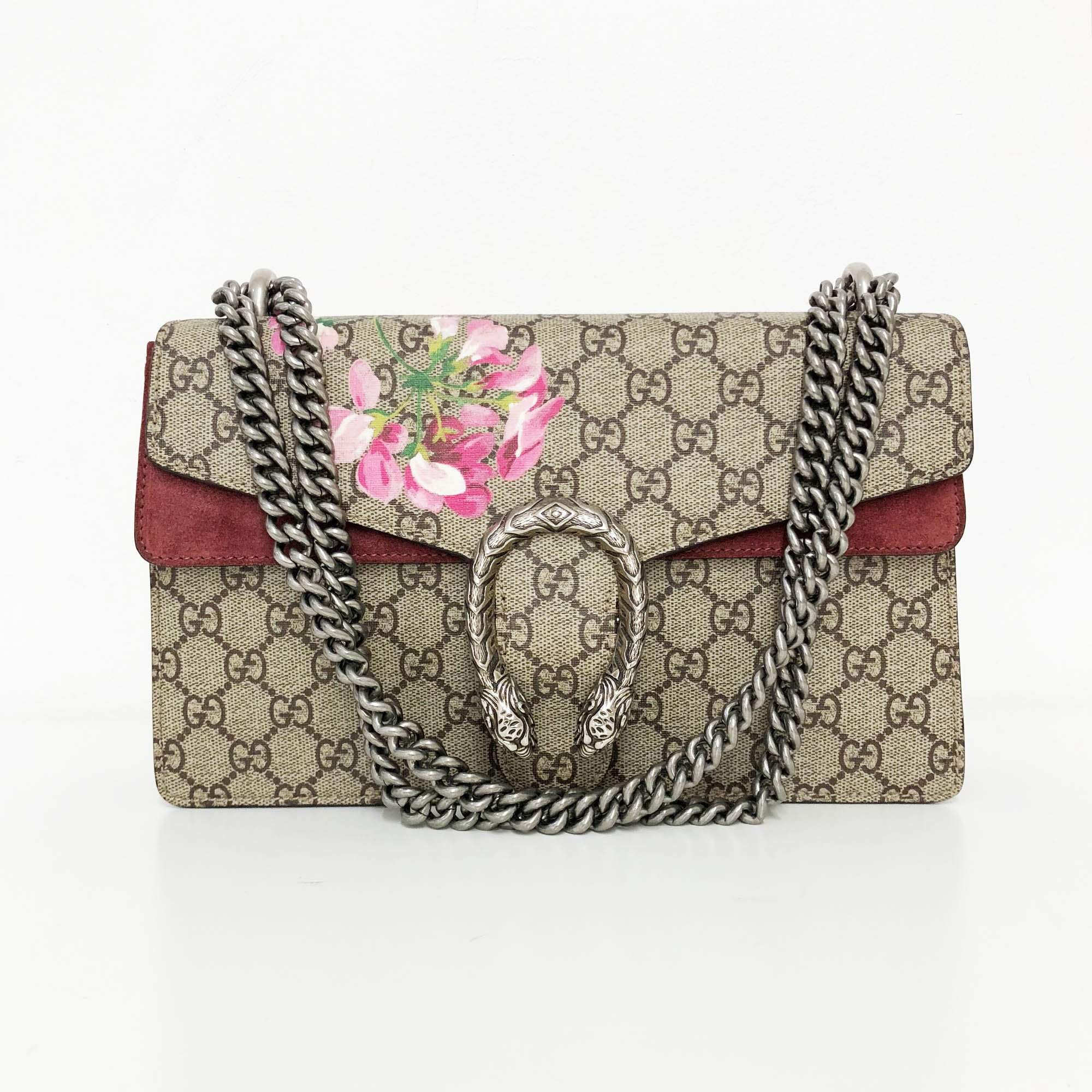 17da9d389755 Gucci Dionysus Small GG Blooms shoulder bag – Garderobe