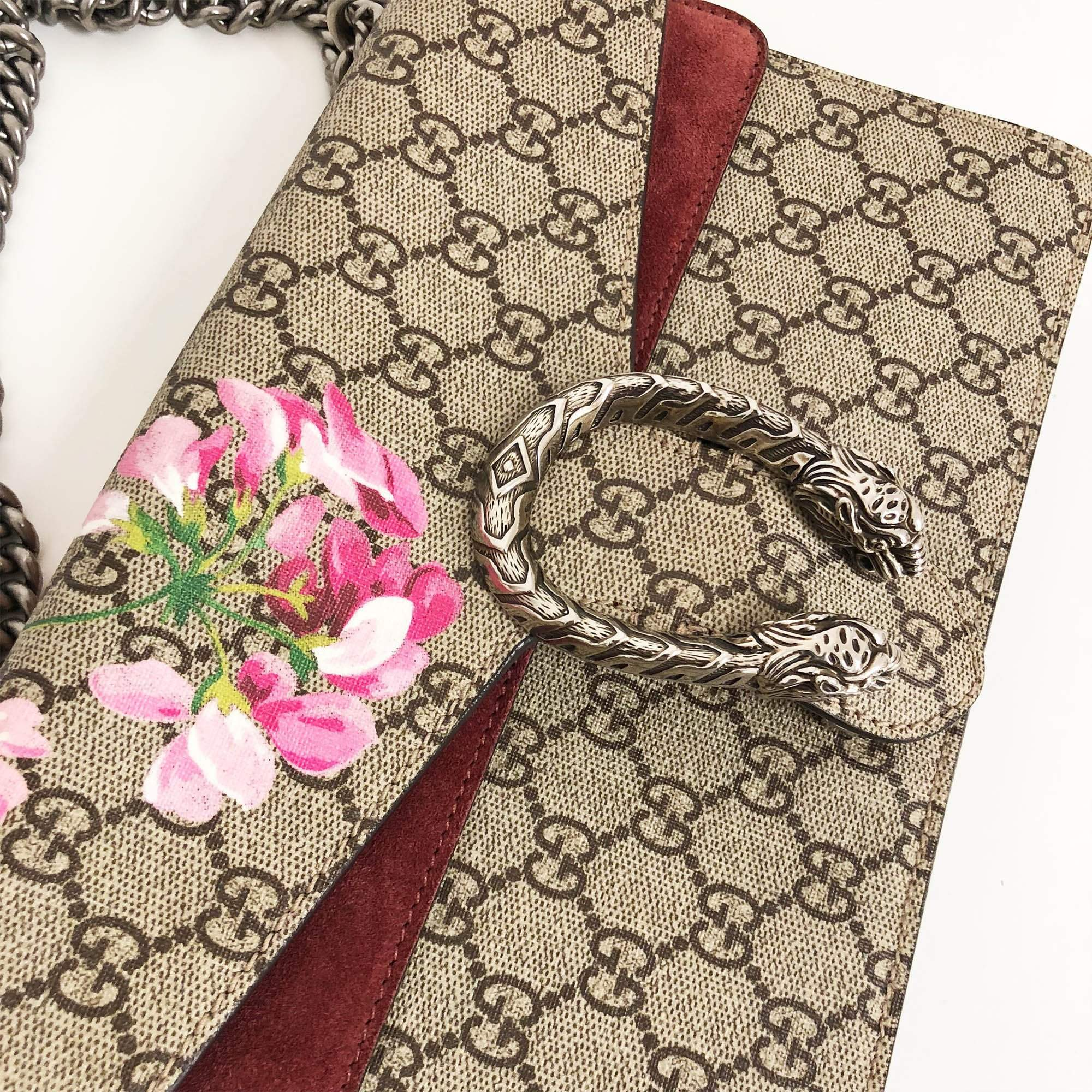 Gucci Dionysus Small GG Blooms shoulder bag