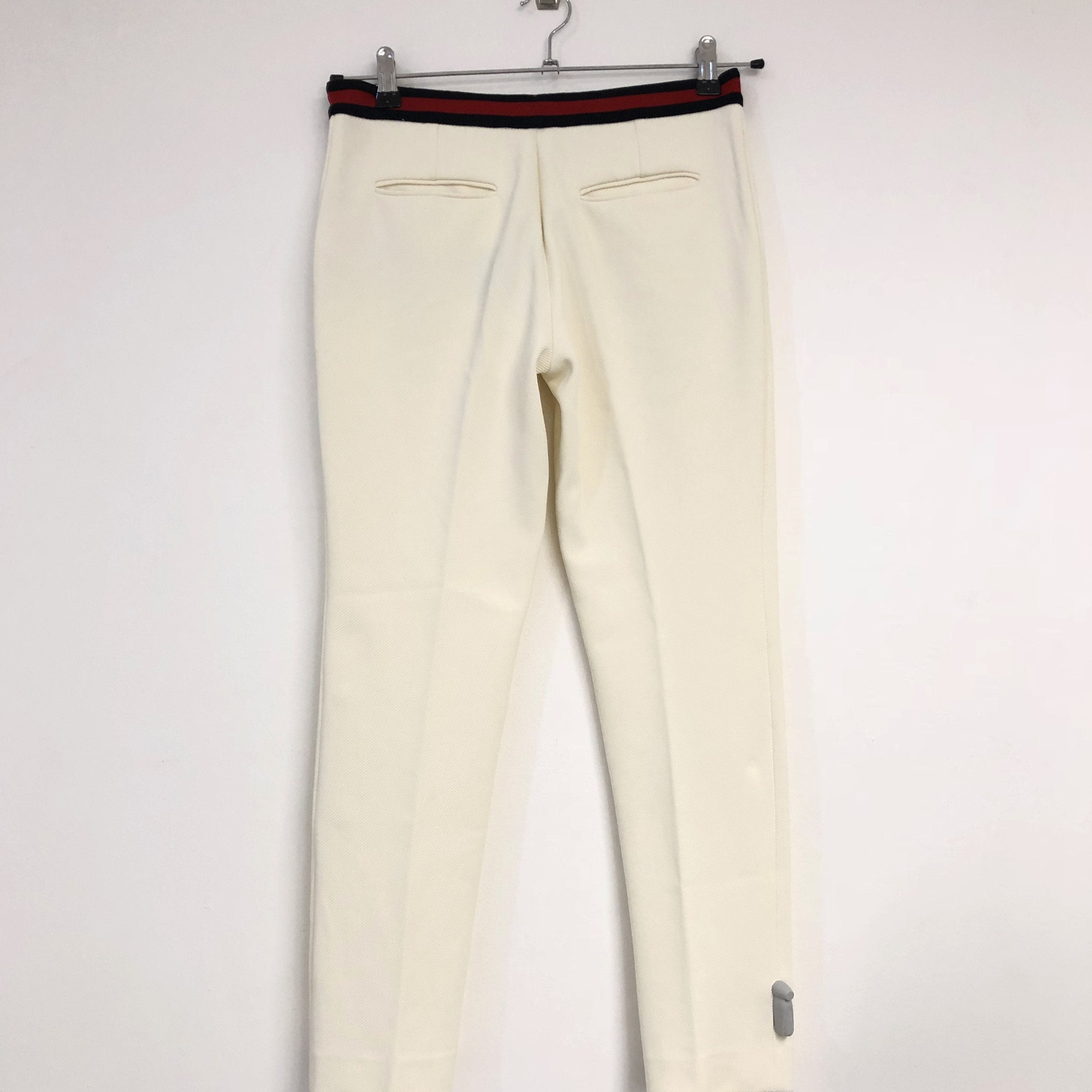 Gucci Off-white Waistband Trousers
