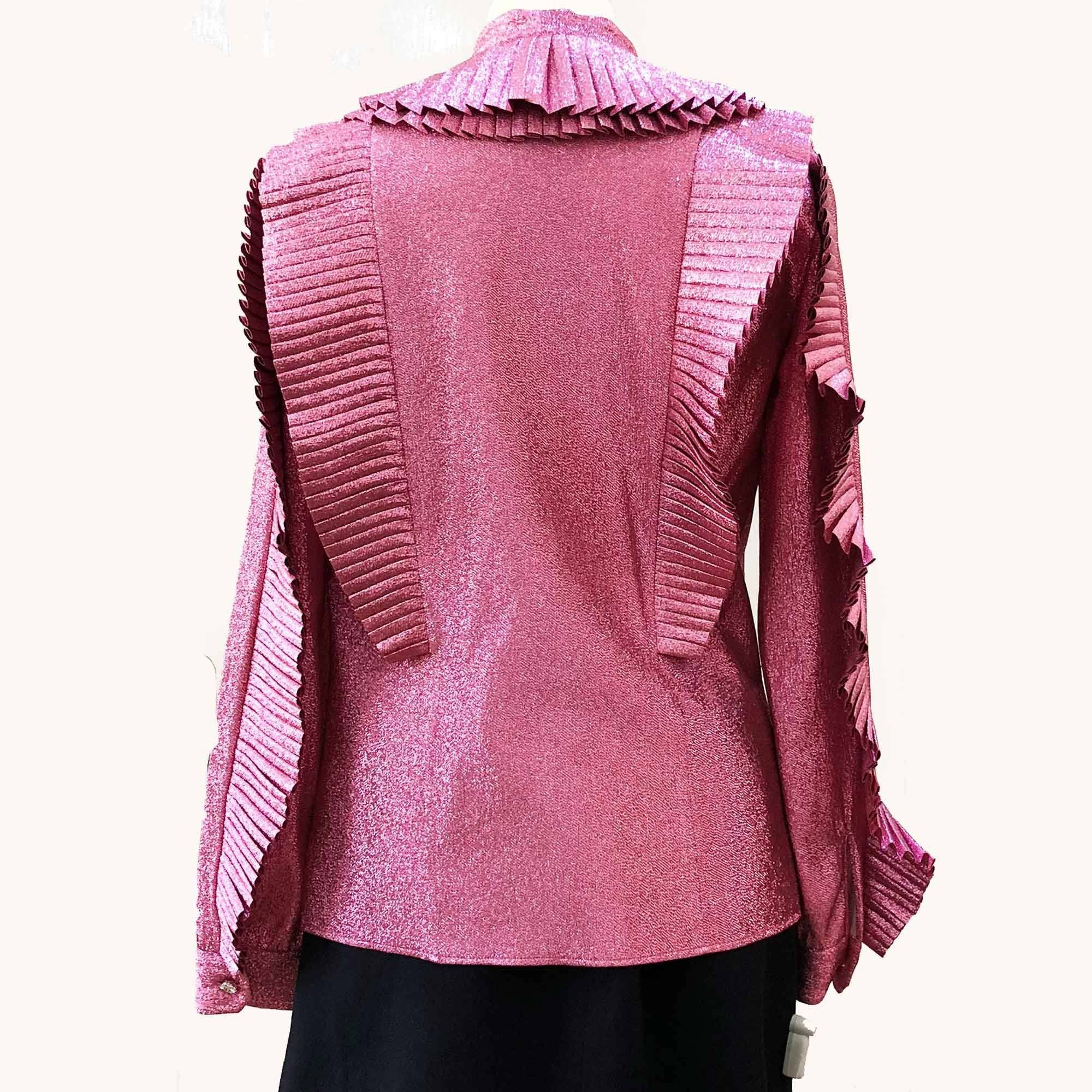 Gucci Lurex Pleated Top