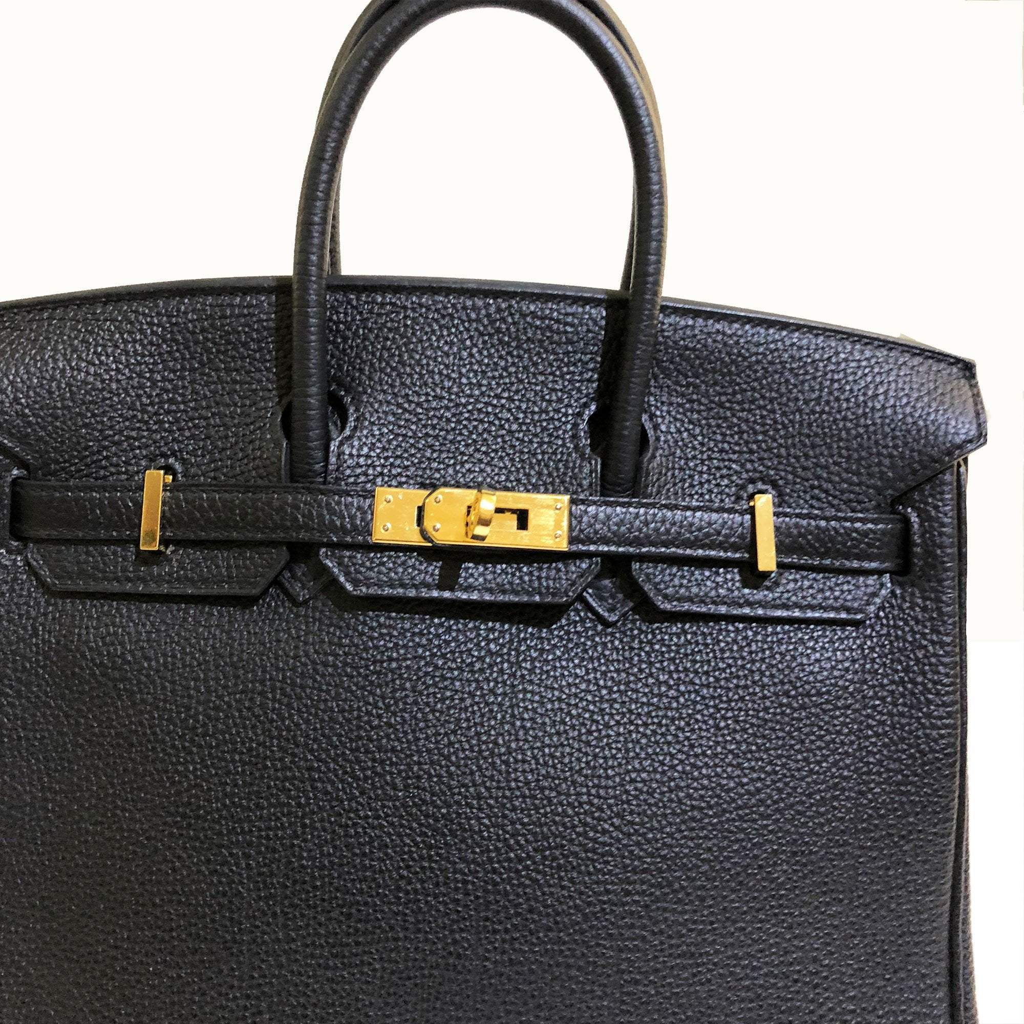 cd7306063e Hermes Birkin 25 Black Togo Bag – Garderobe