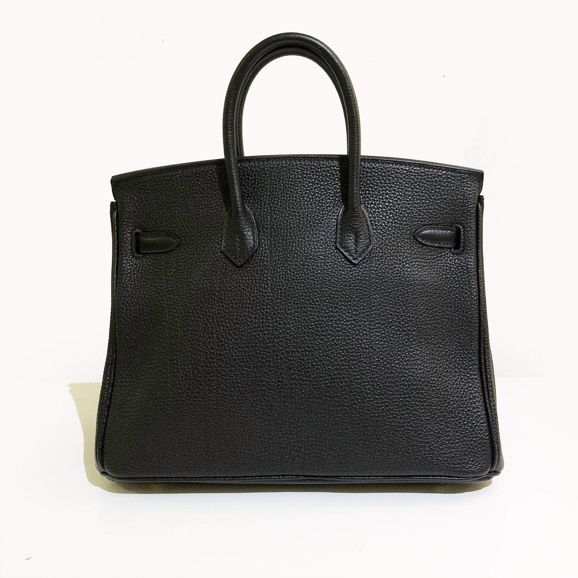 Hermes Birkin 25 Black Togo Bag