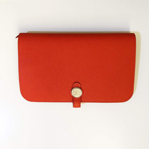 Hermes Dogon Togo Leather Capucine Wallet
