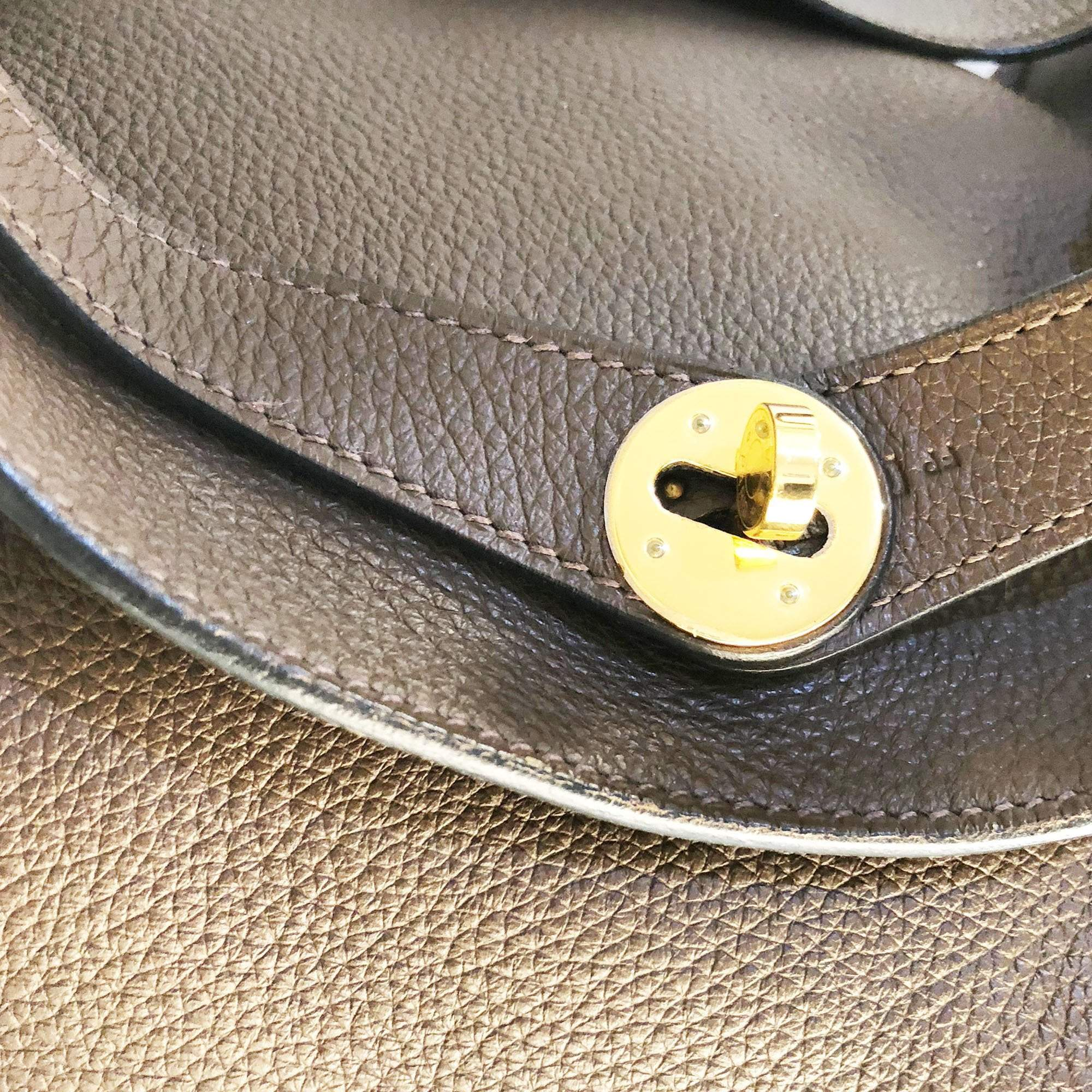Hermes Lindy 34 Clemence Leather Bag