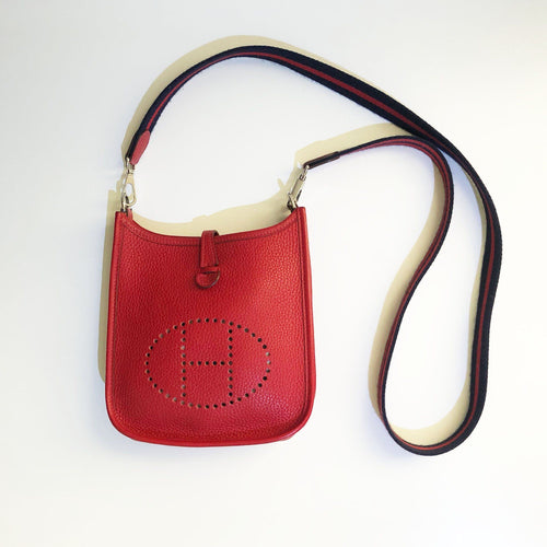 Hermes Evelyne Red III 16 (Mini/TPM)