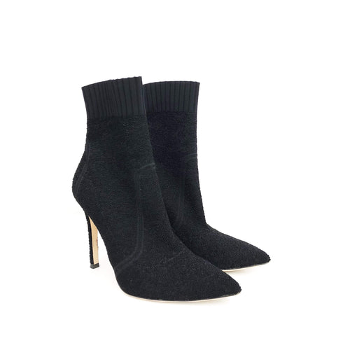 Gianvito Rossi Fiona Ankle Knit Boots