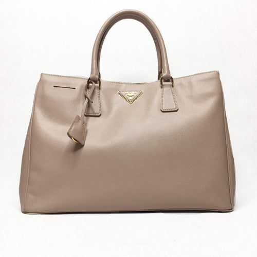 Prada Powder Pink Saffiano Tote Bag