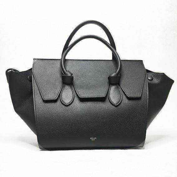 Celine Black Knot Bag