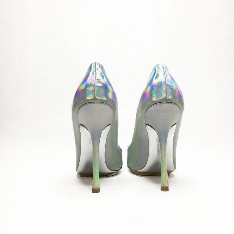 Stella McCartney Holographic Pointed Pumps