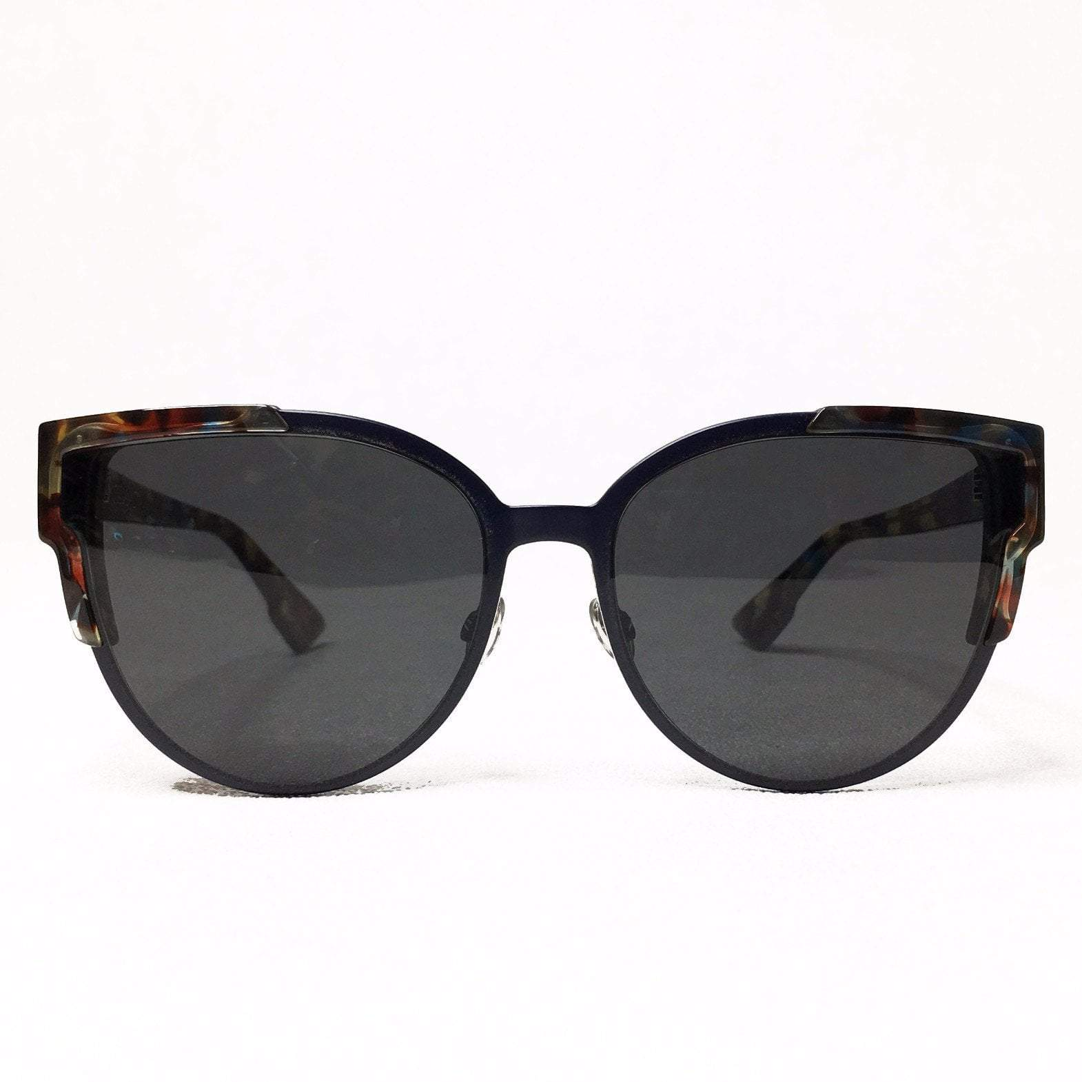 Wildly Dior Havana Blue Sunglasses