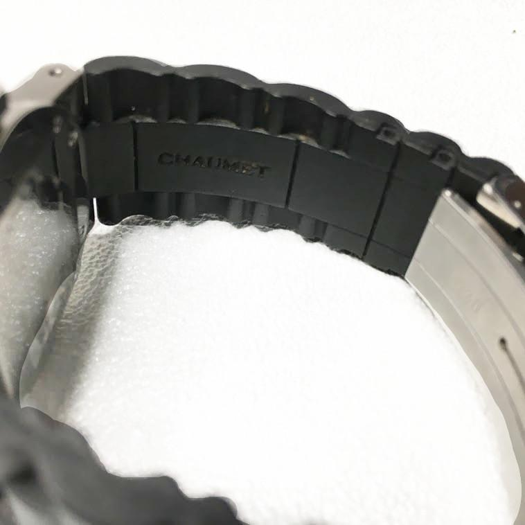 Chaumet Black Stainless Steel Watch