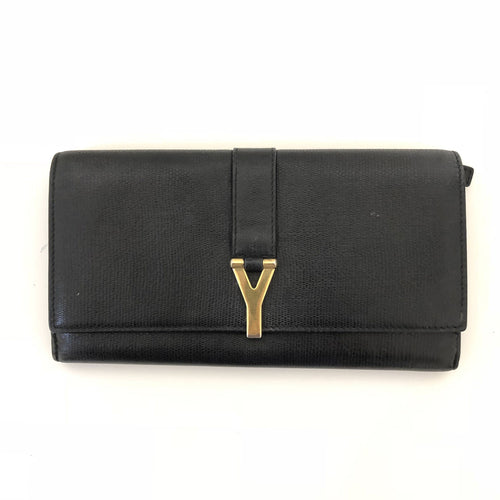 Saint Laurent Y Line Flap Wallet
