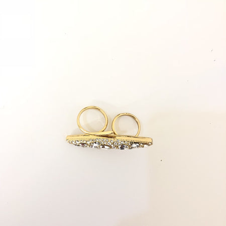 Rachel Zoe Statement Crystal Ring