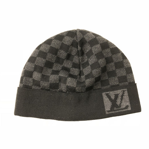 Louis Vuitton Wool Damier Beanie