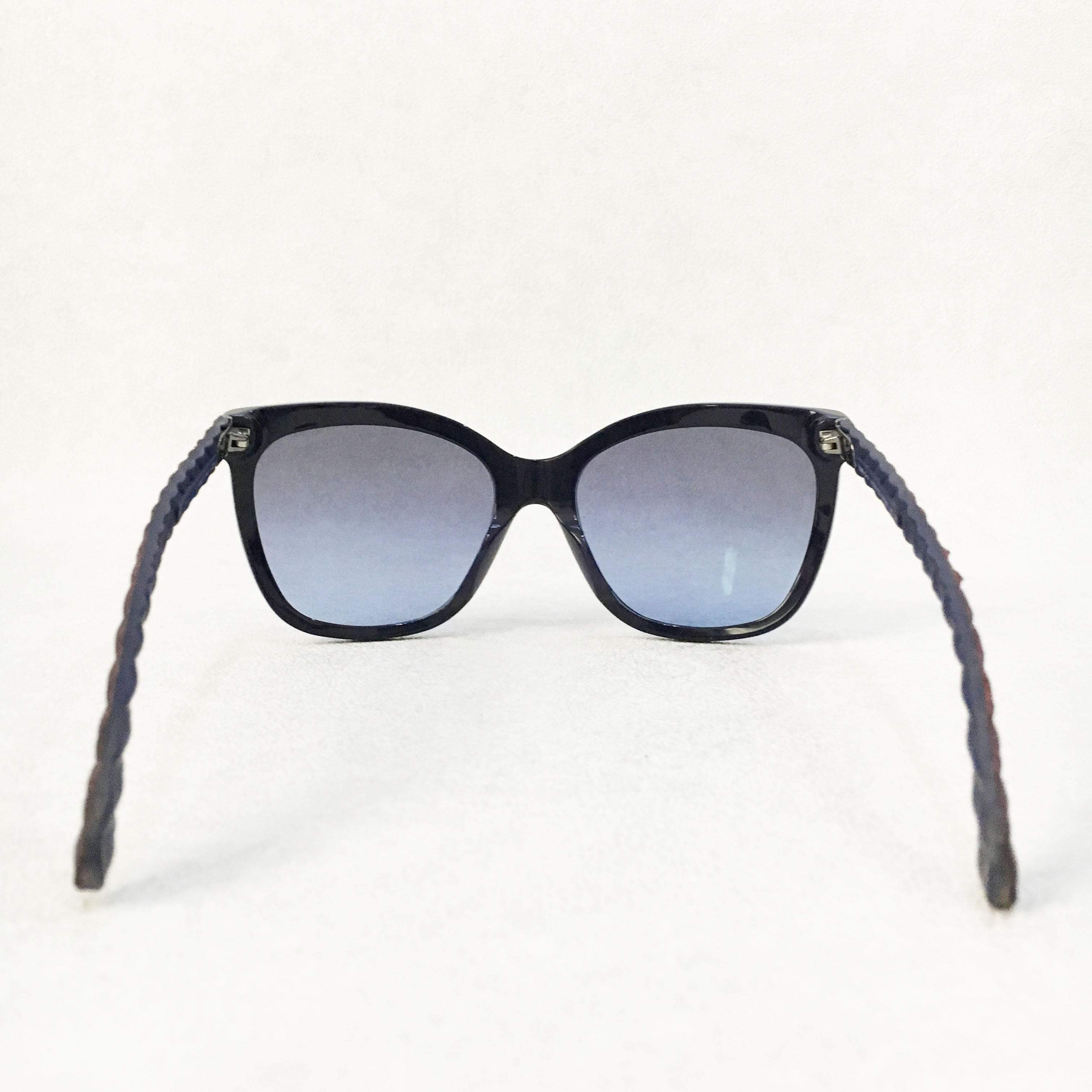 Chanel Sunglasses with Leather Arms – Garderobe