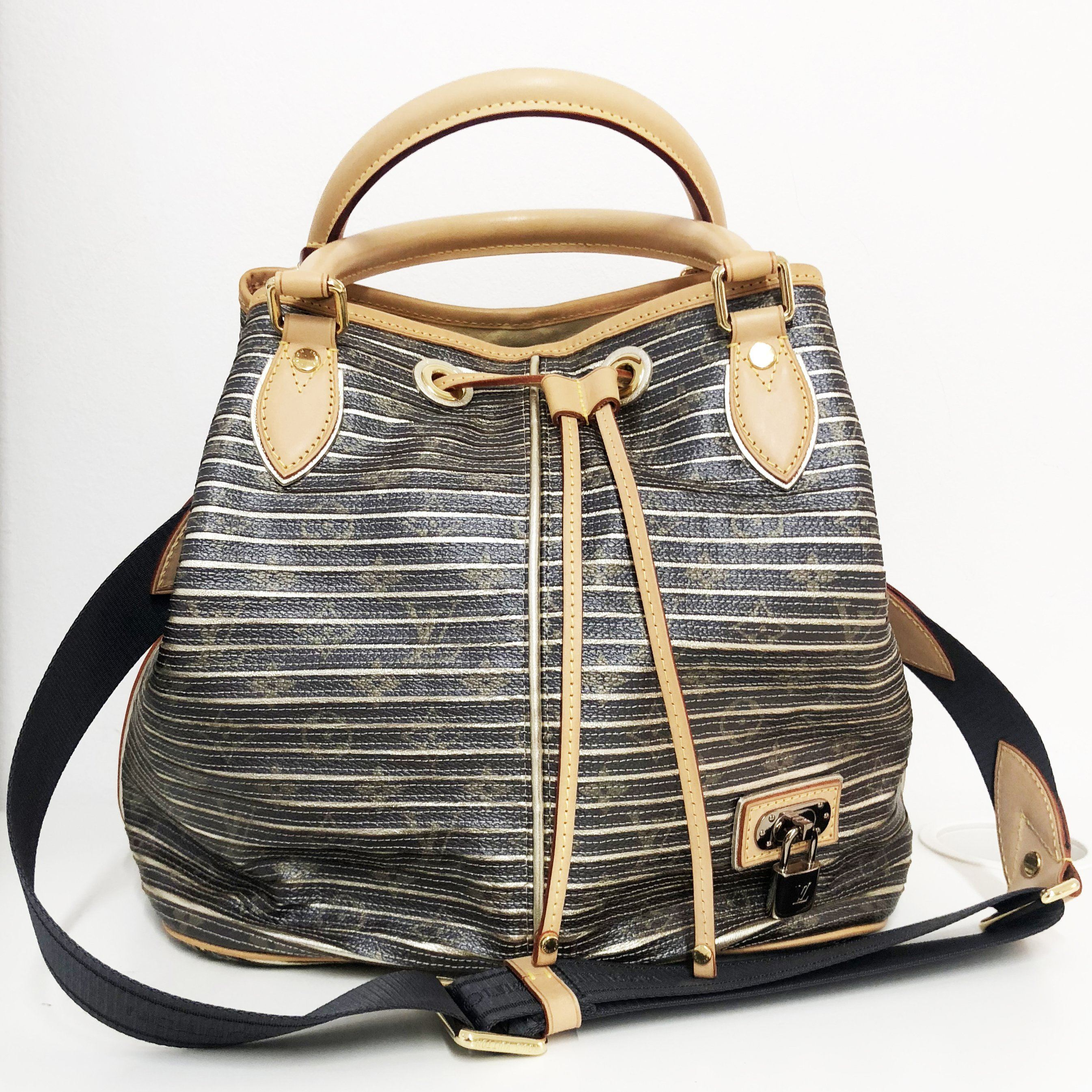 The Louis Vuitton Kaki Monogram Eden Neo Bag (2010 Collection)