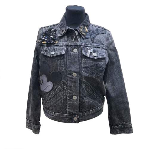 Marc Jacobs Denim Mickey Mouse Jacket