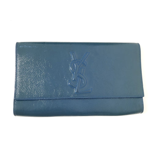 Yves Belle De Jour Patent Leather Clutch