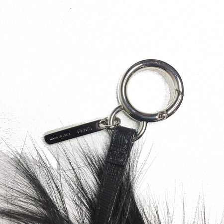 Fur Monster Eyes Key Chain