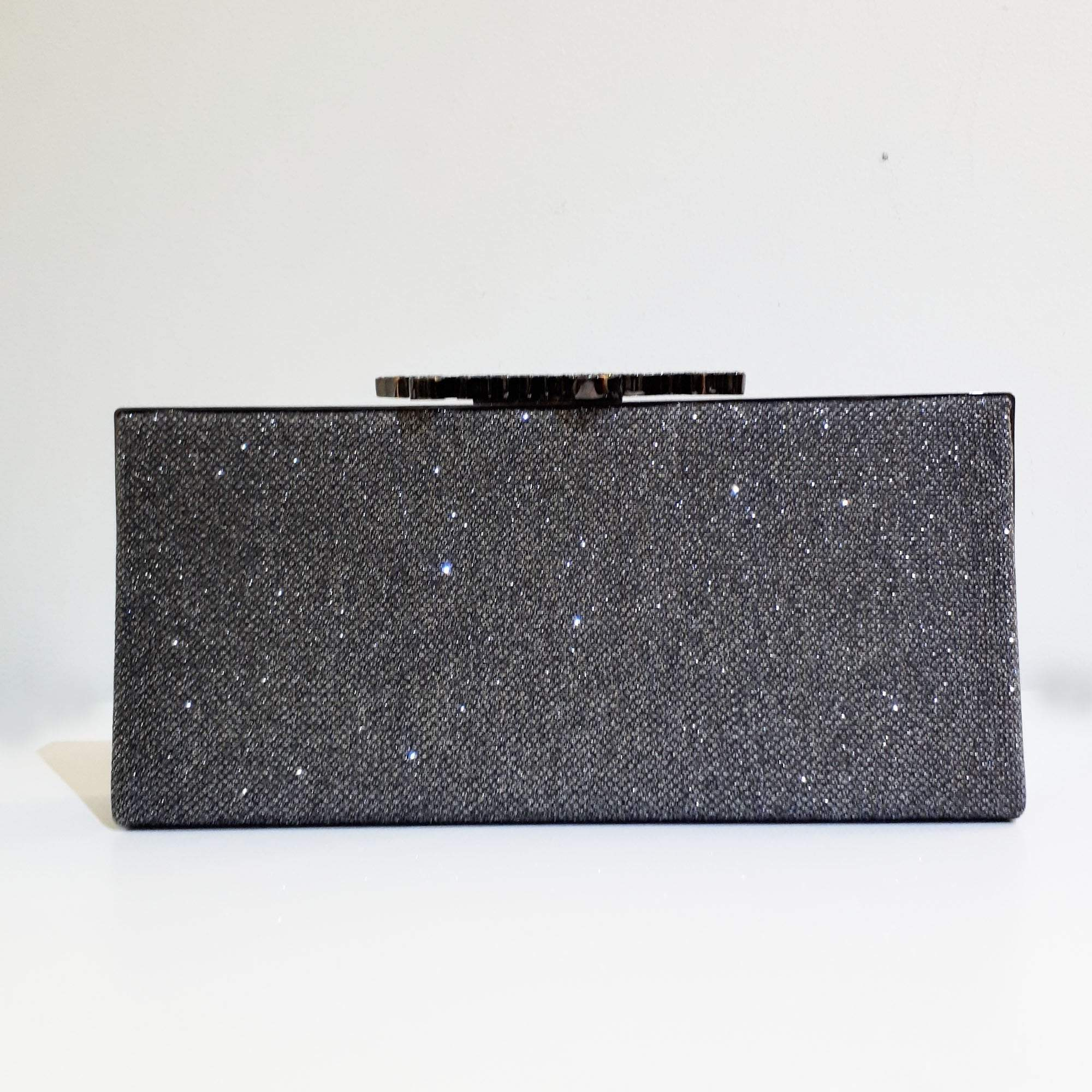 Jimmy Choo Glitter Fabric Clutch
