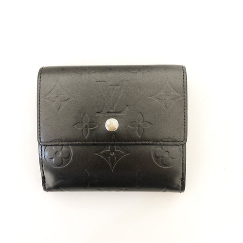 Louis Vuitton Monogram Vernis Patent Leather Porte-Monnaie Cartes Wallet