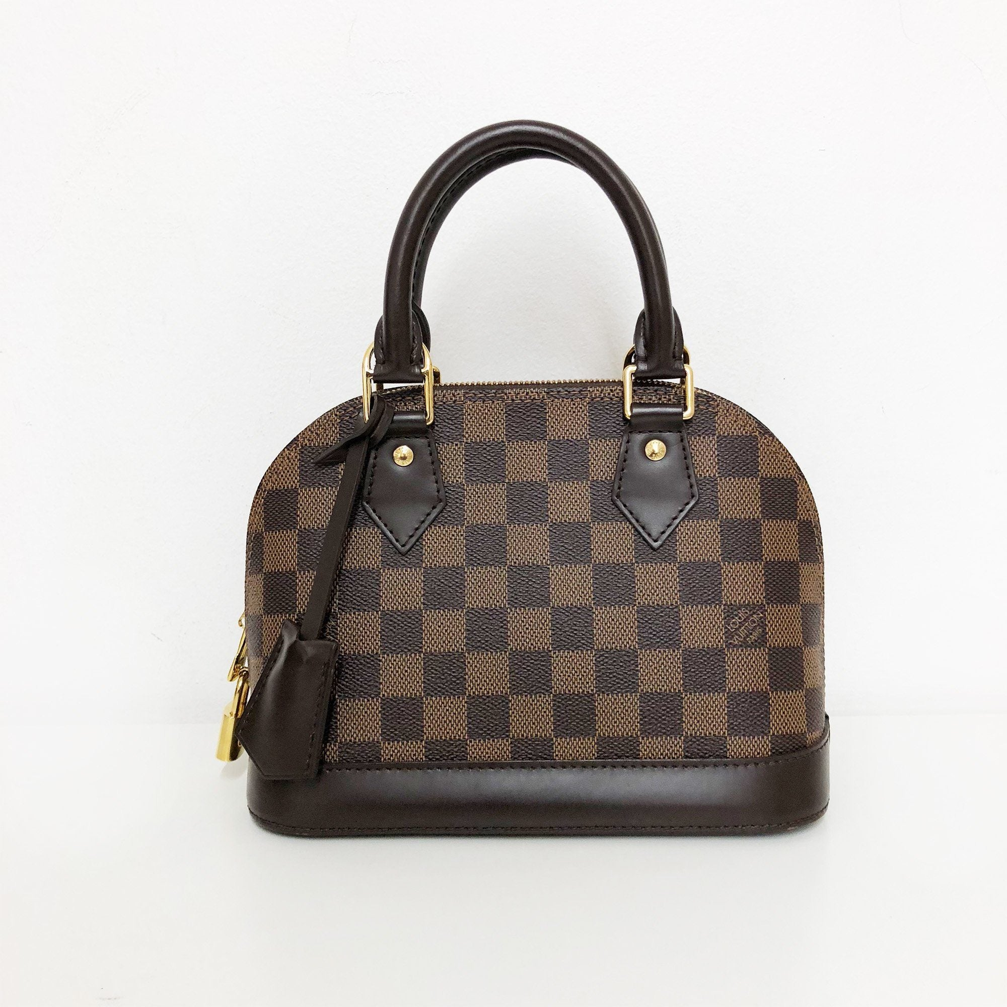 Louis Vuitton Alma Damier BB tote bag