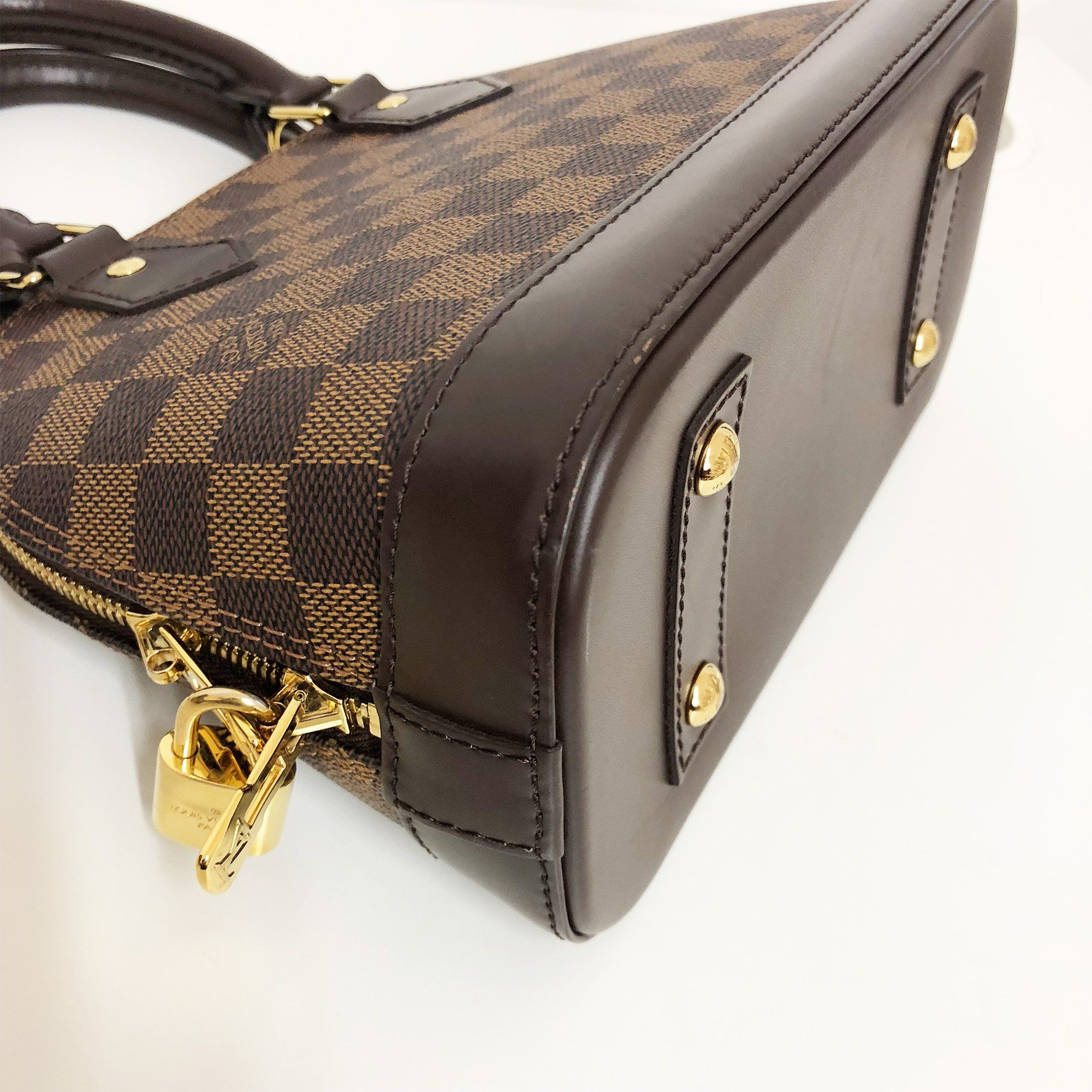 f33fd1ca15e6c item 5 Louis Vuitton LV Alma GM Hand Bag N41247 Damier Ebene Brown 4345 -Louis  Vuitton LV Alma GM Hand Bag N41247 Damier Ebene Brown 4345