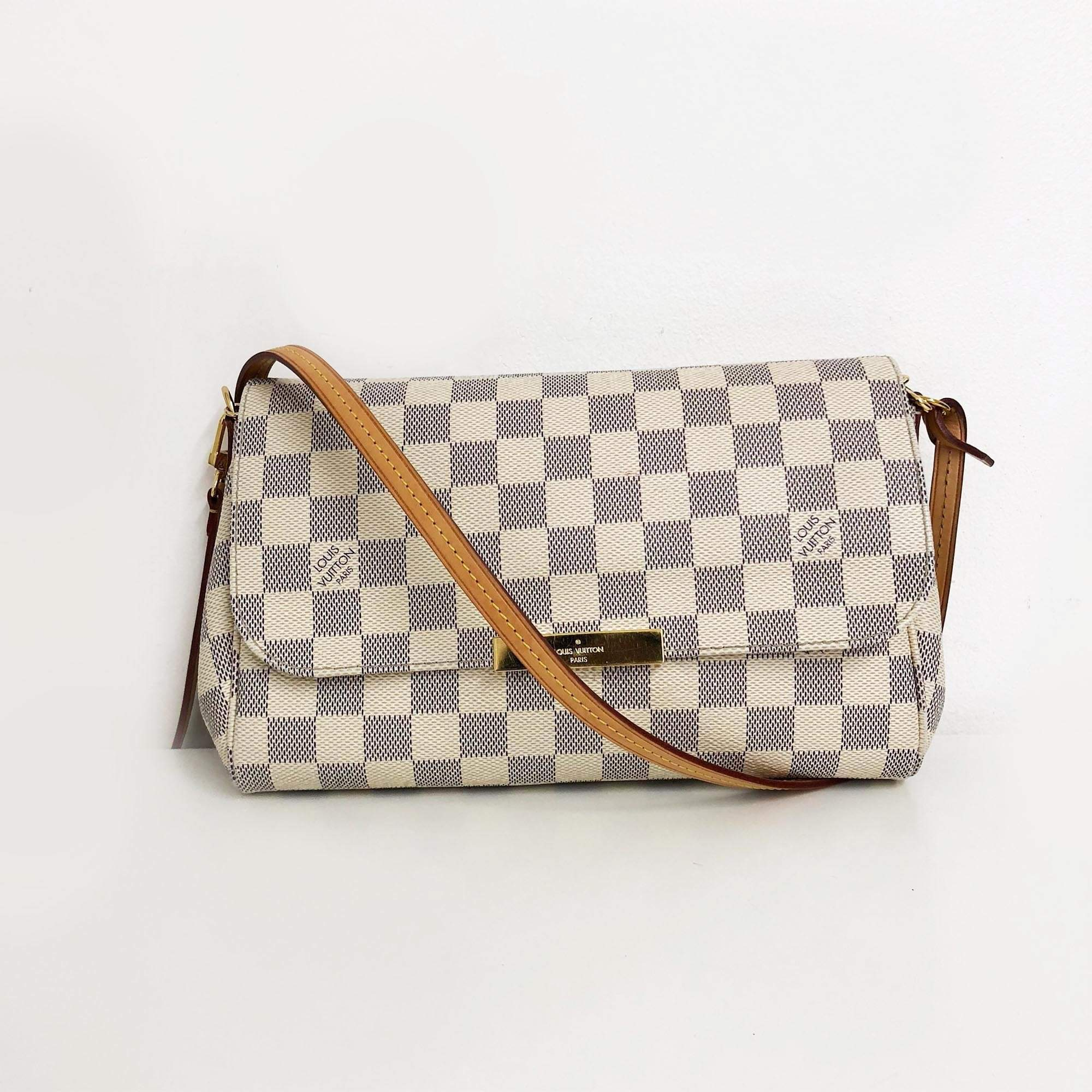 Louis Vuitton Azur Damier Favorite MM Bag