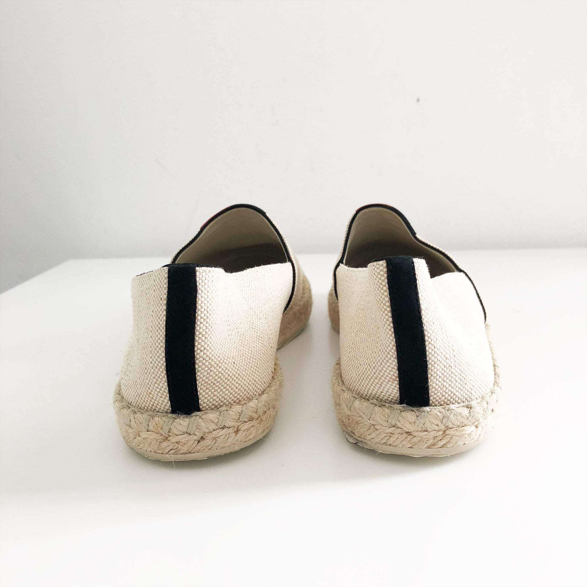 Louis Vuitton Beige Canvas Postcard Espadrille