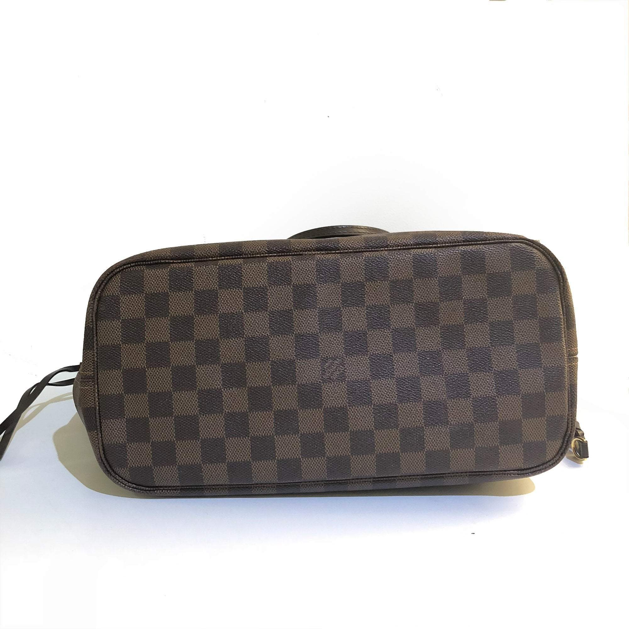 Louis Vuitton Damier Ebene Canvas Neverfull MM Bag