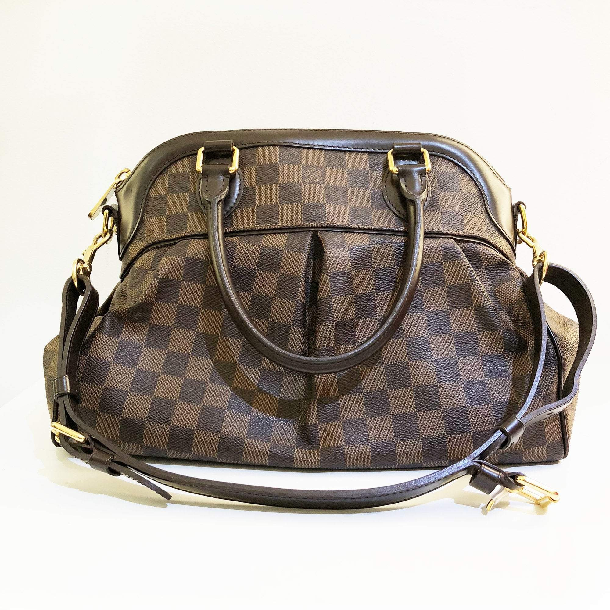 Louis Vuitton Damier Ebene Canvas Trevi MM Bag