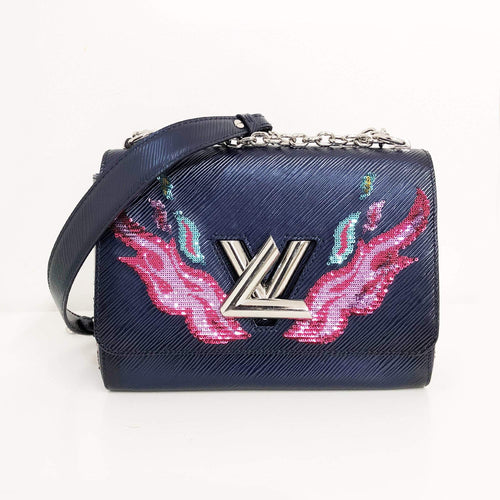 Louis Vuitton Epi leather Twist MM Crossbody Bag