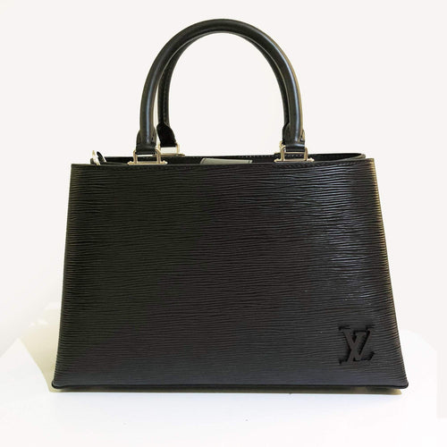 Louis Vuitton Kleber PM Epi Noir Hand Bag