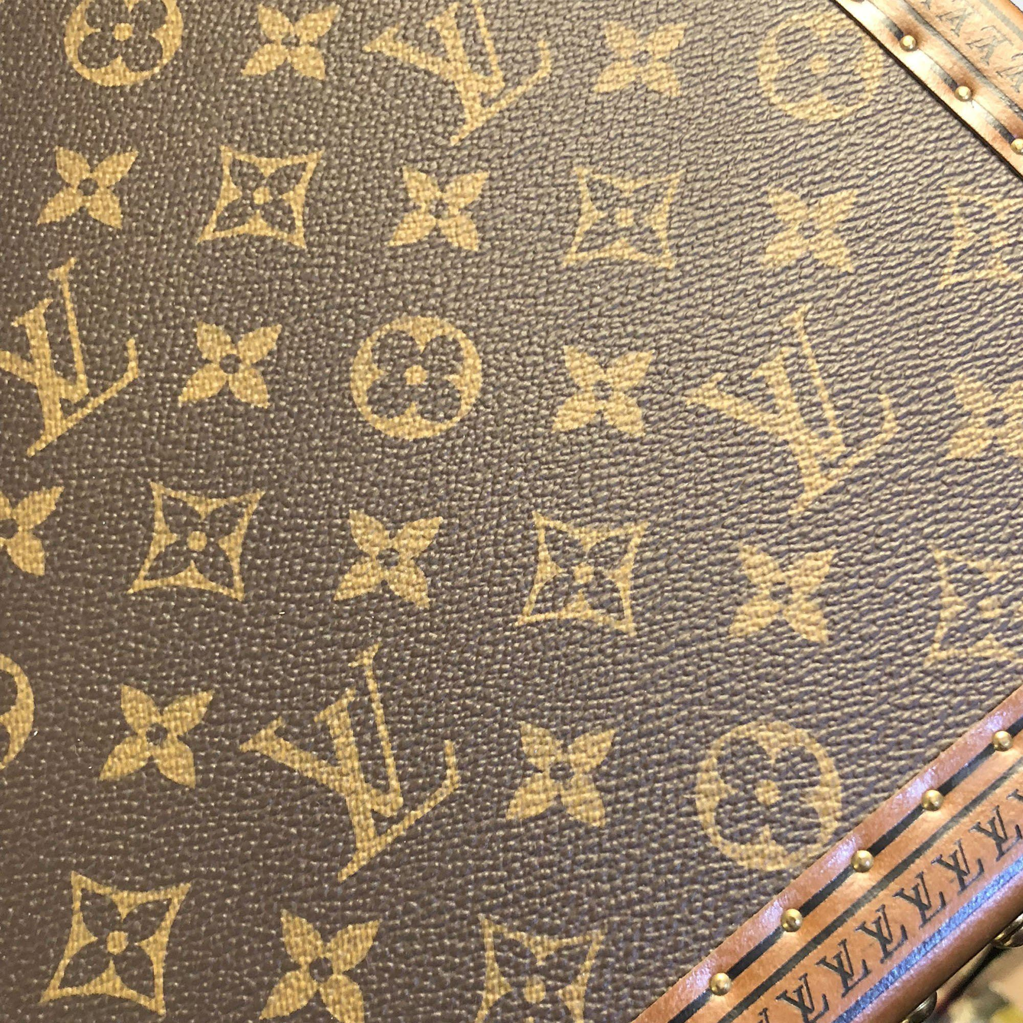 Louis Vuitton LV Monogram Alzer 70cm Hard Suitcase Trunk
