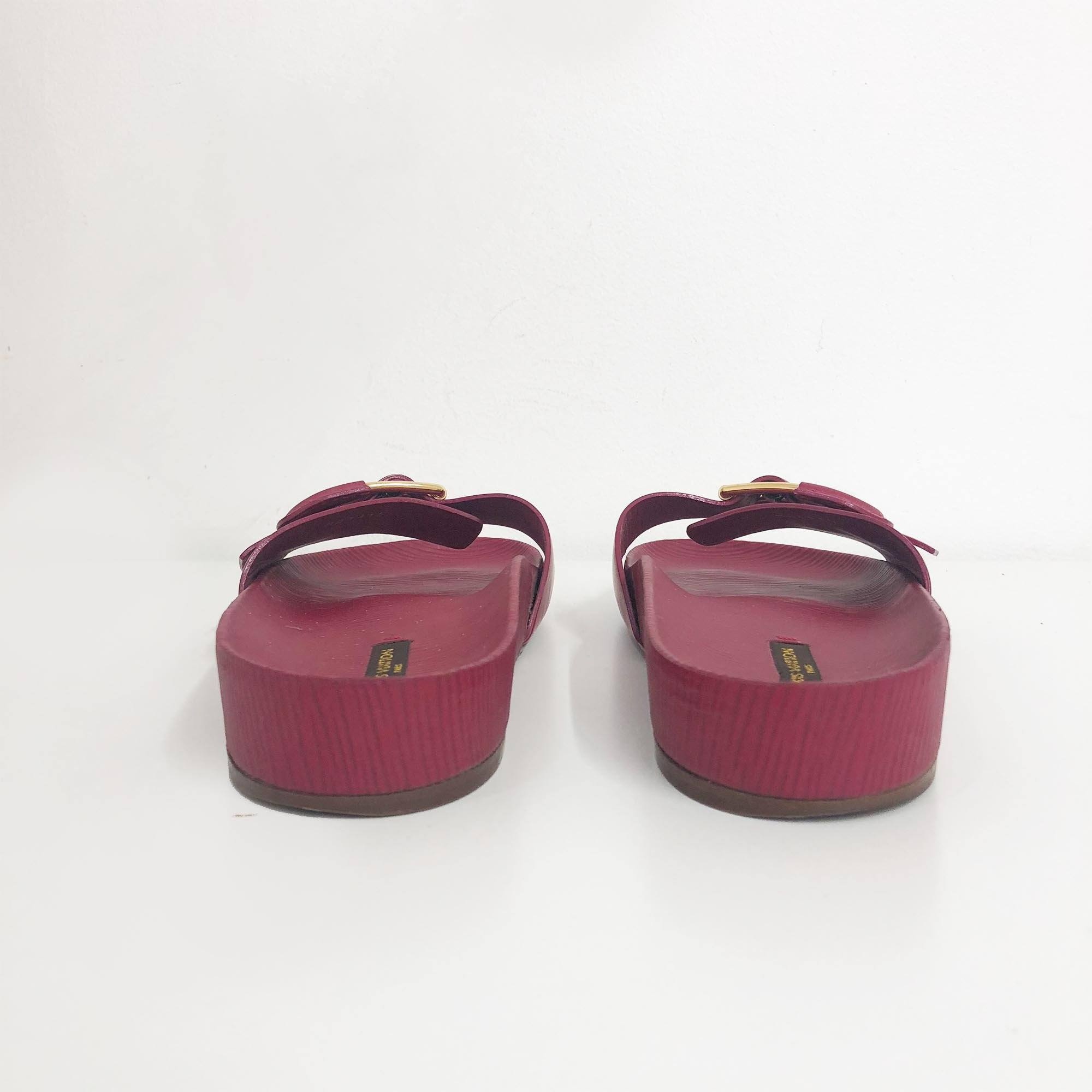 Louis Vuitton Marina Epi Leather Sandals
