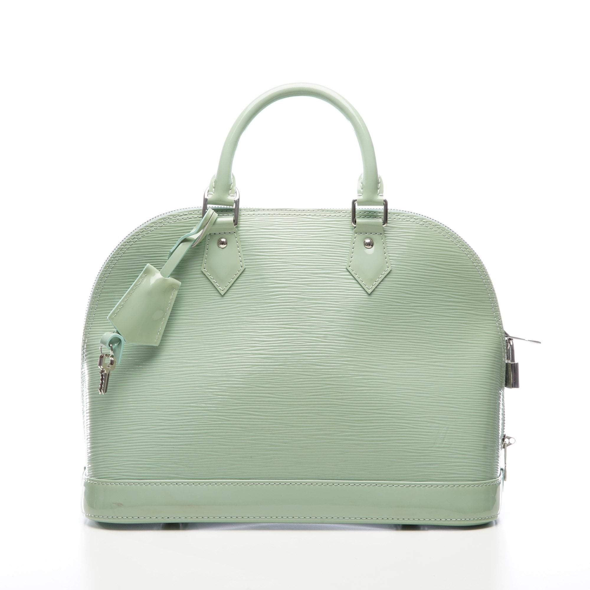 Louis Vuitton Mint Green Alma PM Bag