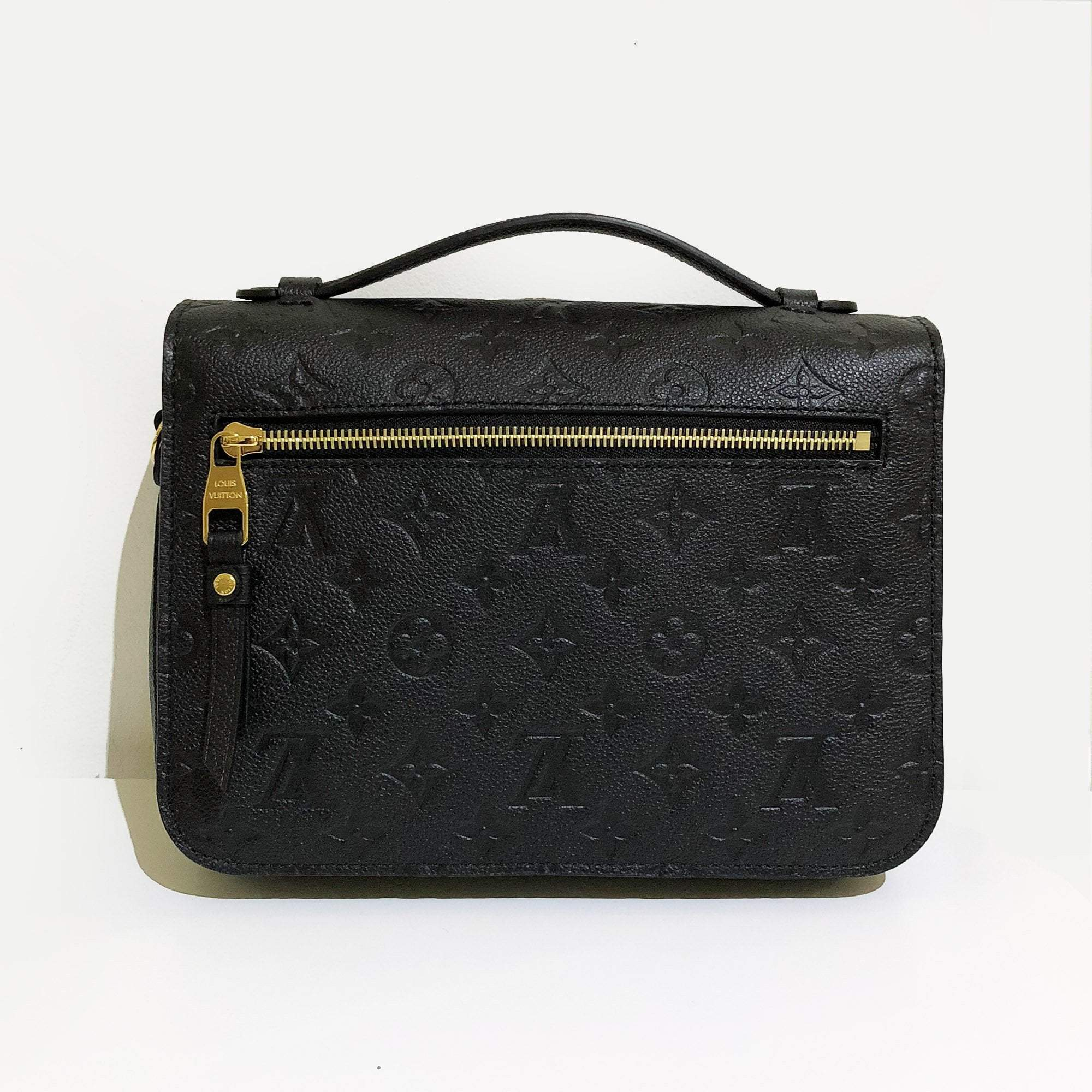 Louis Vuitton Pochette Metis Monogram Empreinte Leather Bag