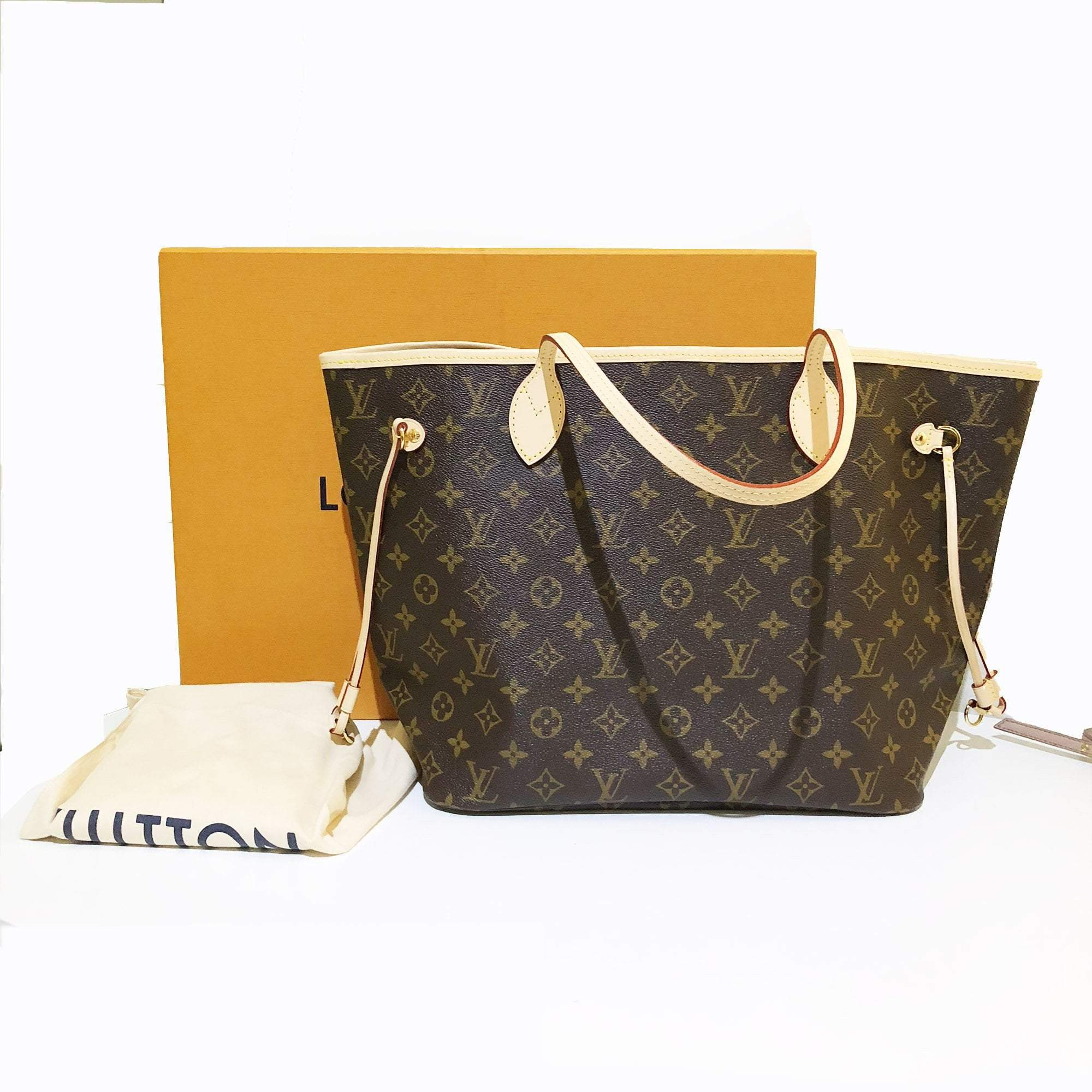 Louis Vuitton Monogram Canvas Neverfull MM Bag