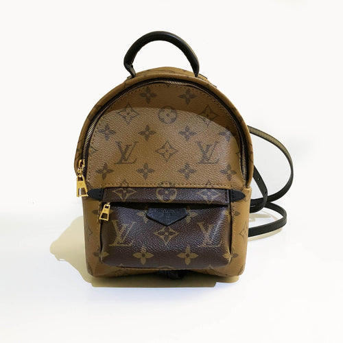 Louis Vuitton Monogram Reverse Canvas Palm Springs Backpack Mini