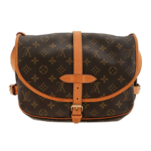 Louis Vuitton Monogram Saumur 28 Shoulder Bag