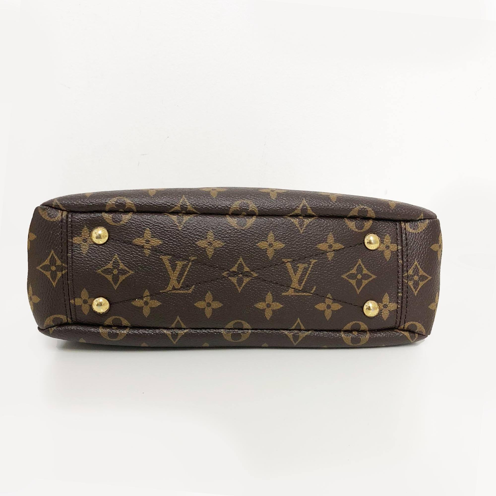 Louis Vuitton Pallas Monogram BB Canvas Cross Body Bag