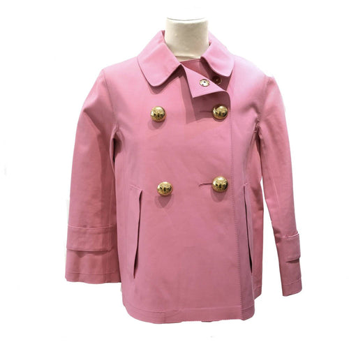 Louis Vuitton Pink Double Breasted Peacoat