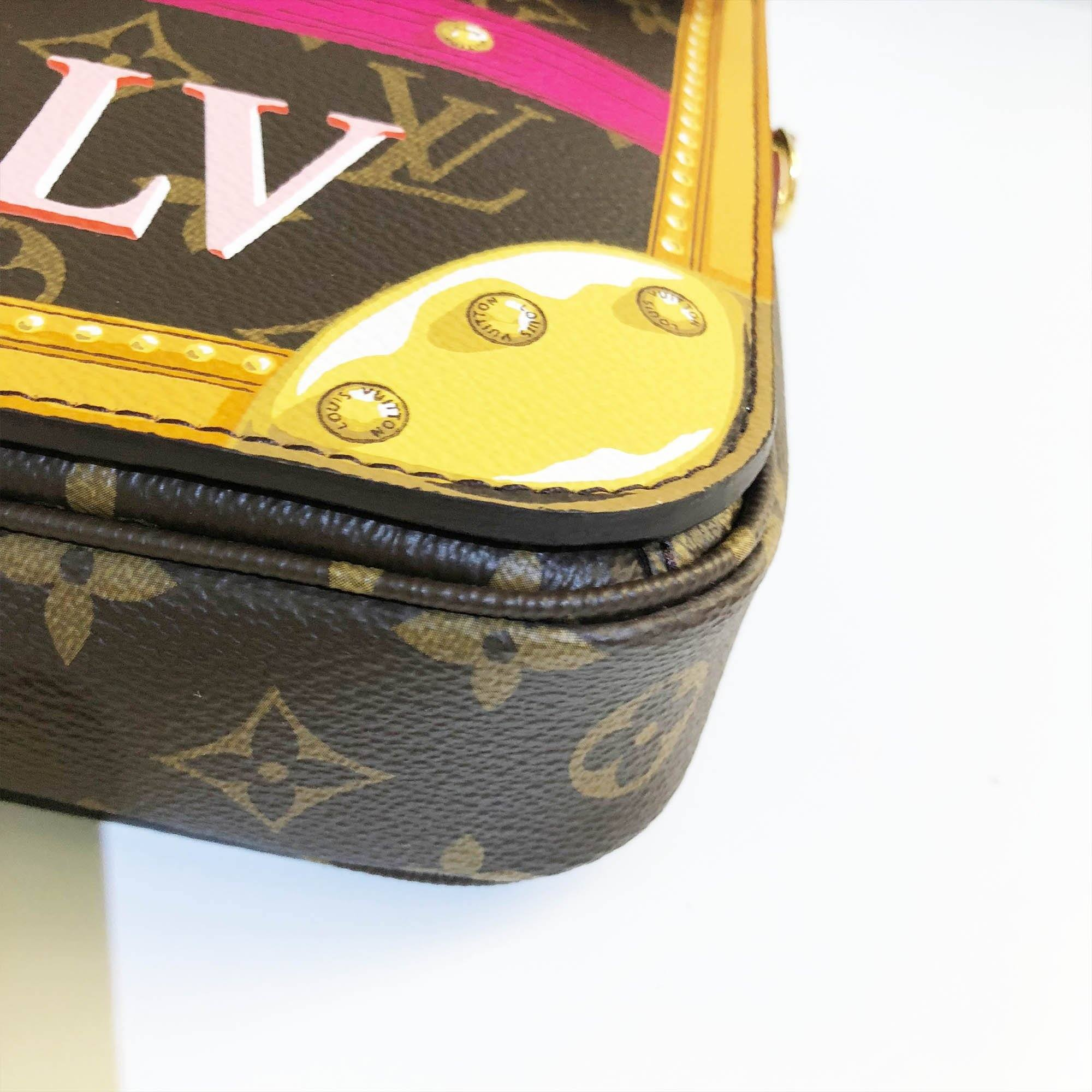 Louis Vuitton Pochette Metis Limited Edition Bag in Summer Trunk Collection