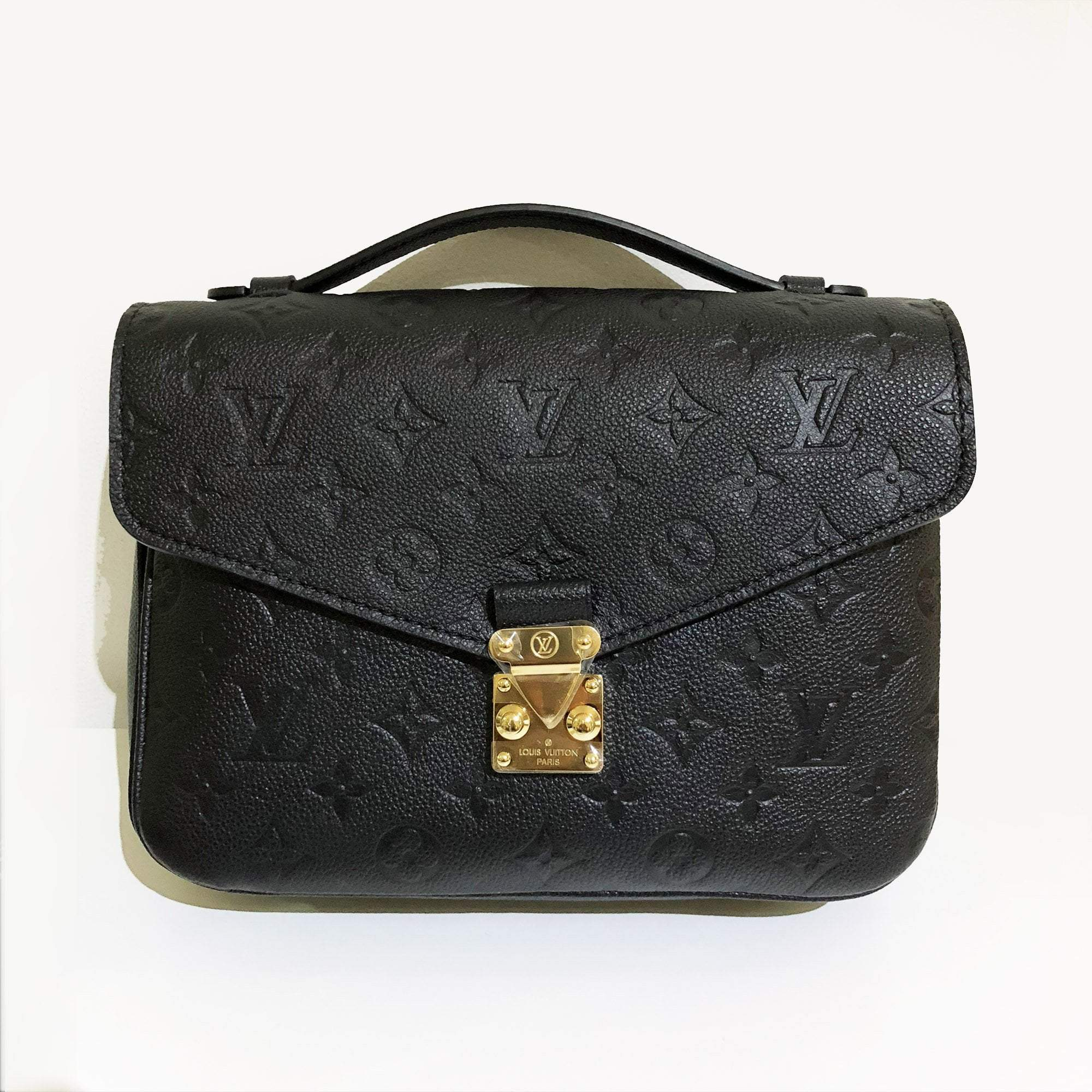 ad3724dc1e2d Louis Vuitton Pochette Metis Monogram Empreinte Leather Bag – Garderobe