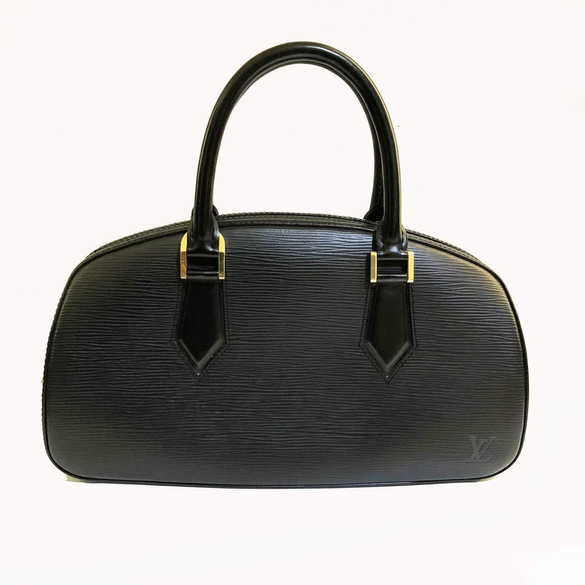 Louis Vuitton Tassil Black Epi Leather Jasmin Handbag