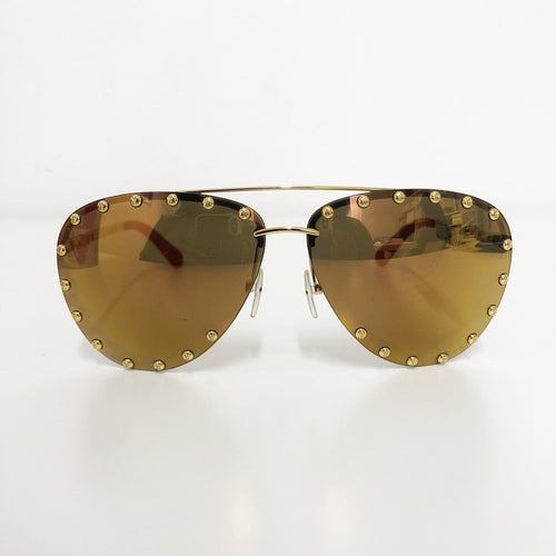 Louis Vuitton The Party Sunglasses Gold