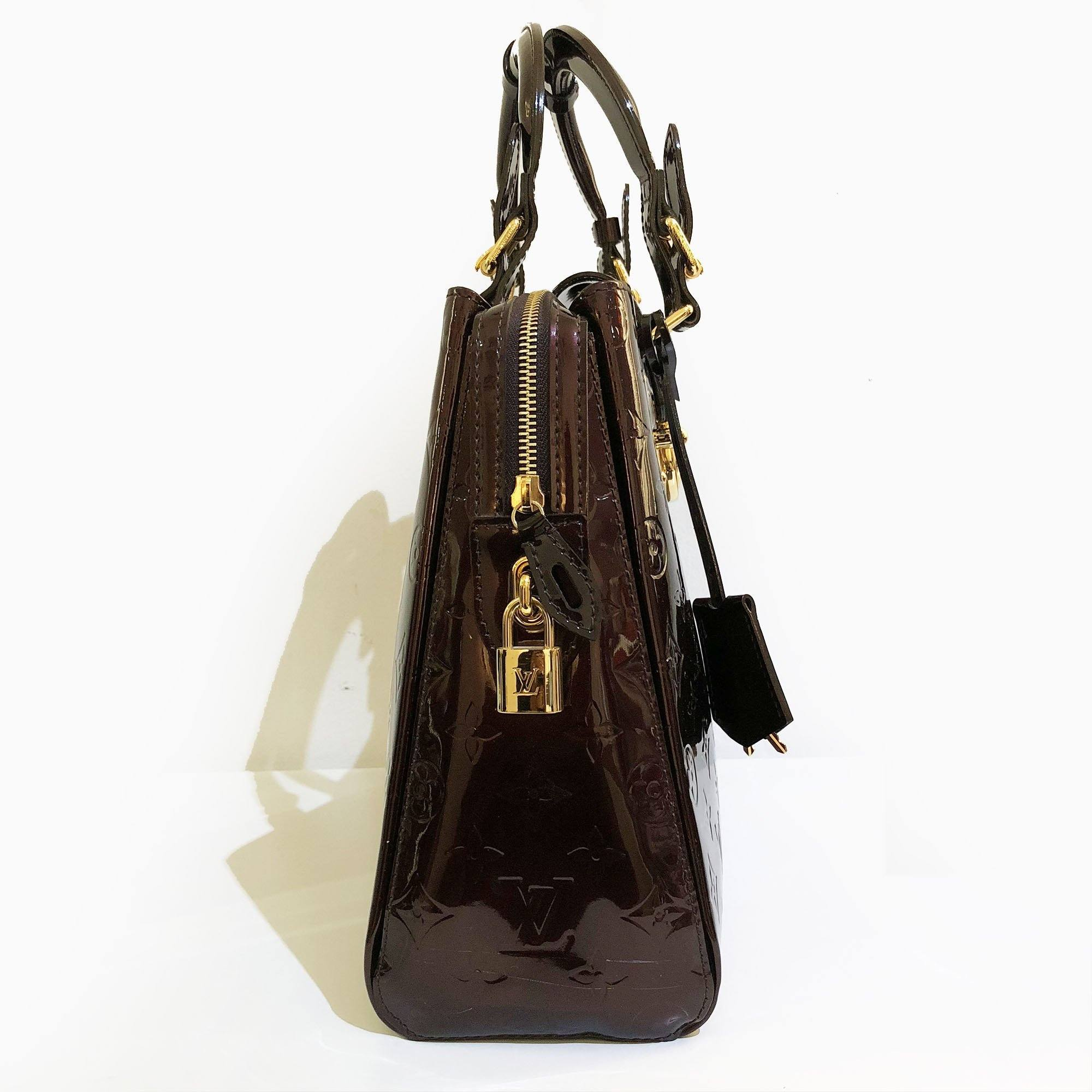 Louis Vuitton Vernis Melrose Avenue Amarante Bag