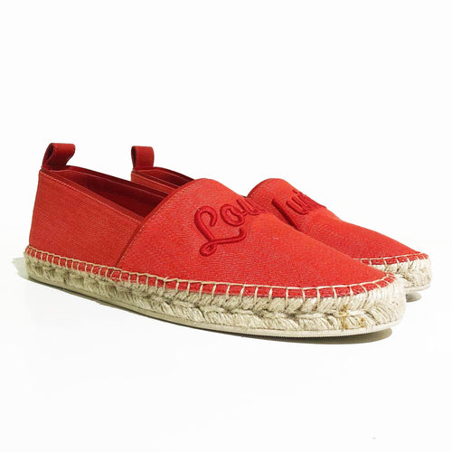 Louis Vuitton Waterfall Espadrille Flats