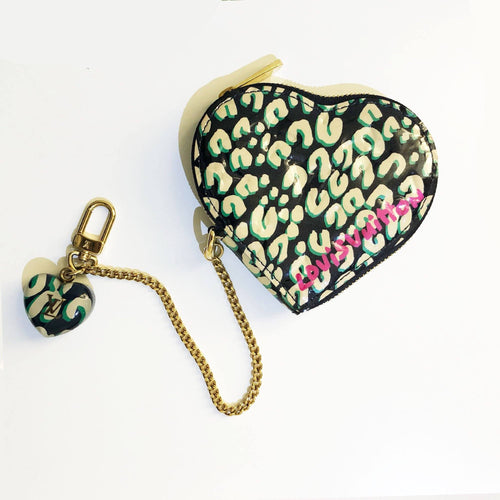 Louis Vuitton Stephen Sprouse heart coin purse